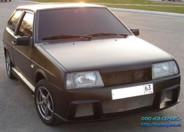 Бампер передний Тюнинг ВАЗ 2108, 2109, 21099 AVR