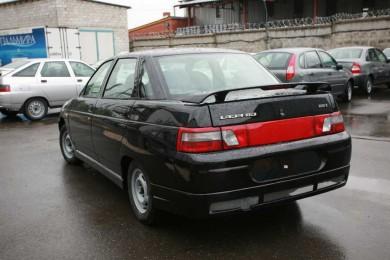 Накладка на задний бампер ВАЗ 2110 «Снайпер»