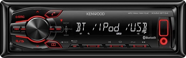 USB-ресивер Kenwood KMM-BT34