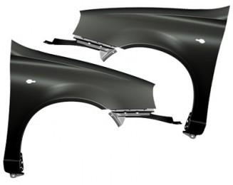 Крыло переднее левое (катафорезное покрытие) ВАЗ 1118 (11180840301177)