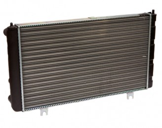 Радиатор охлаждения алюминиевый ВАЗ 2112 (16-ти клап.) (21120130101210)