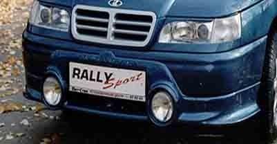 """Накладка бампера 2110 """"Rally Sport"""""""
