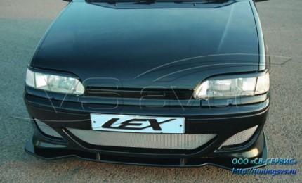 Бампер передний Тюнинг ВАЗ 2113-2115 Lex