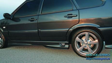 Пороги к-т Тюнинг ВАЗ 2114-2115 Lex