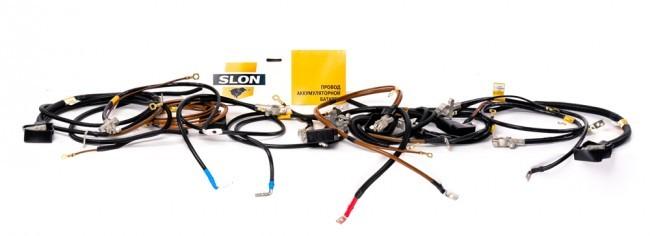 Провод аккумулятора отрицательный (-) 21214 SLON (инжектор) 21214372408021