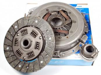 Комплект сцепления (корзина+диск+выжимной) ВАЗ 2121 (21210160100000)