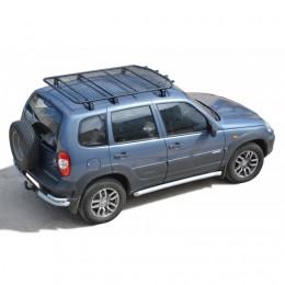 Багажник - платформа экспедиционный «Трофи» с сеткой 2123